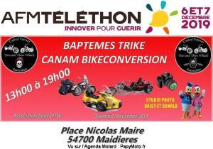 Baptèmes trike Canam Bikeconversion - Maidières (54) @ Place Nicolas Maire | Maidières | Grand Est | France