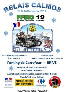 Relais Calmos Hivernale des Millevaches - FFMC 19 - Brive (19) @ Parking Carrefour | Brive-la-Gaillarde | Nouvelle-Aquitaine | France