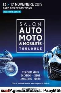 Salon Auto Moto & Mobilités - Toulouse (31) @ Parc des Expositions | Toulouse | Occitanie | France