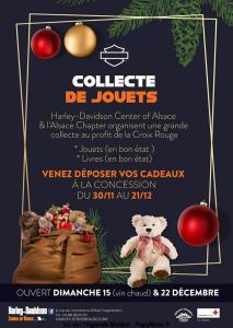 Collecte de jouets - Alsace Chapter - Harley Davidson Center of Alsace - Strasbourg (67) @ Fegersheim | Grand Est | France