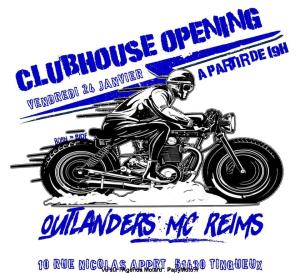 Clubhouse Opening - outlanders MC Reims - Tinqueux (51) @ Tinqueux | Grand Est | France