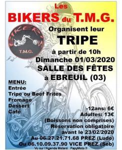 La Tripe des biker's T. M. G - Ébreuil (03) @ Ebreuil 03 | Ébreuil | Auvergne-Rhône-Alpes | France