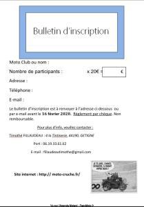 CRU CY POT - Boussay (44) @ Parking du centre de secours de Boussay | Boussay | Pays de la Loire | France