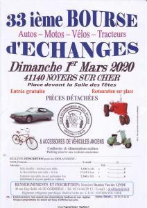 33ième Bourse d'échange - Noyers-sur-Cher (41) @ Noyers sur Cher 41 | Noyers-sur-Cher | Centre-Val de Loire | France