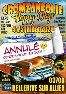 Cromzanfolie Happy Days 2020 - Bellerive-sur-Allier (03)-----ANNULE------ @ Bellerive sur Allier | Bellerive-sur-Allier | Auvergne-Rhône-Alpes | France