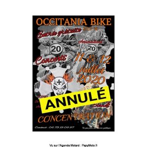 20e Concentration Occitania Bike - Saint Florent sur Auzonet (30)-----ANNULE-----