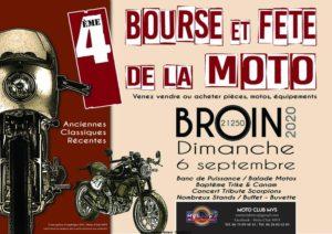 Bourse et Fête de la Moto - Broin (21) @ 21250 BROIN
