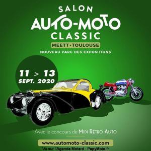 Salon Auto Moto Classic - Toulouse (31) @ MEETT, Parc des Expositions