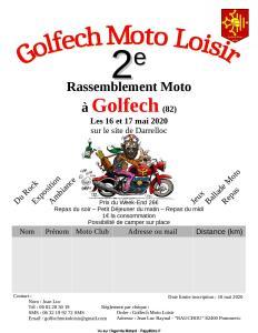 2e Rassemblement Moto -Golfech Moto Loisir - Golfech (82) @ Golfech