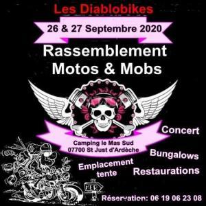 Rassemblement motos et mobs - Saint Just d'Ardéche (07) @ Saint just d'ardéche