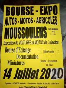 Bourse Expo - Moussoulens (11) @ Moussoulens (11)