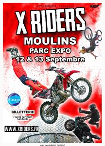 X RIDERS - Moulins (03) @ Parc Expo