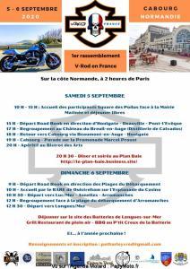 1er rassemblement VROD harley davidson en France - Cabourg (14) @ Cabourg