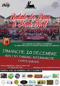 Balade des Pères et Mères Noël - Châteauroux (36) @ Chateauroux (36)