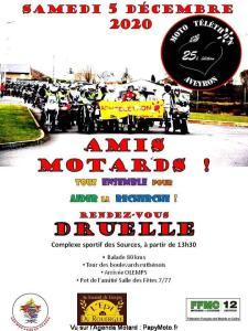 Moto Téléthon Aveyron - Druelle (12) @ Druelle (12)