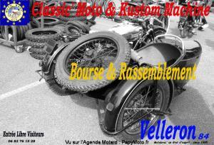 Classic' Moto Auto bourse et rassemblement - Velleron (84) @ Velleron 84740