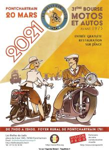 31e Bourse Motos et Autos - Pontchartrain (78) @ Pontchartrain (78)