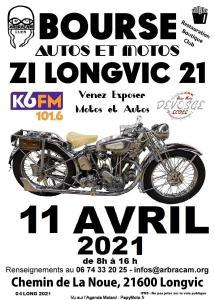 Bourse Motos et Autos Anciennes et Classiques - Longvic (21) @ Longvic (21)