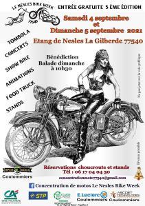 Le Nesles Bike Week – Nesles La Gilberde (77) @ Nesles La Gilberde (77)