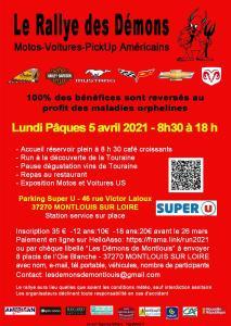Le Rallye des Démons - Montlouis sur Loire (37) @ Montlouis sur Loire (37)