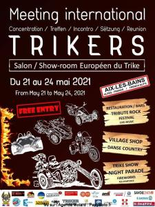 Meeting international Trikers - Aix-les-Bains (73) ----ANNULE--- @ Aix-les-Bains (73)