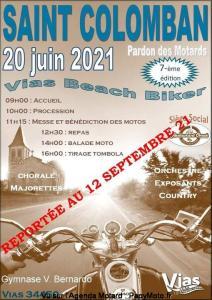 Saint Colomban - Pardon des motards - Vias Beach Biker - Vias (34) @ - Vias (34)