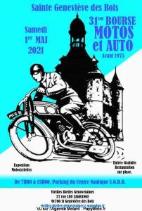 31e Bourse Motos et Auto – Sainte Geneviève des Bois (91) @ Sainte Geneviève des Bois (91)