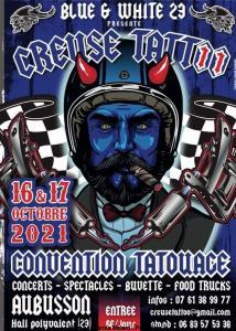 Creuse Tattoo – Blue & White 23 – Aubusson (23) @ Aubusson (23)