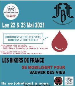 Don du sang - FBF - Créteil - Fontenay s/Bois - Maison Alfort (94) @ Créteil - Fontenay s/Bois - Maison Alfort (94)
