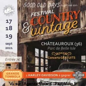 Festival Américain Good Old Days - Châteauroux (36) @ Châteauroux (36)