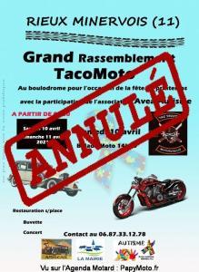 Grand Rassemblement TacoMoto - Rieux Minervois (11)----ANNULE---- @ Rieux Minervois (11)