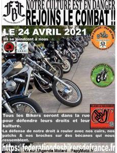 Manifestation nationale - Fédération des Bikers de France @ France