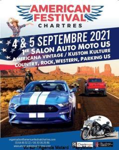Américan Festival - Chartres (28) @ Chartres (28)