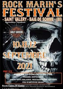 Rock Marin's Festival - Saint Valery (80) @ Saint Valery (80)