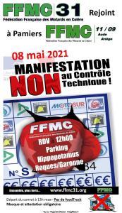 Non au Contrôle technique - FFMC 31 - Roques sur Garonne (31) @ Roques sur Garonne (31)