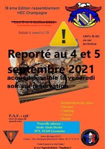 18th Rassemblement HDC Champagne  - Germaine (51) @ Germaine (51)