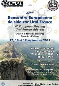 4e Rencontre Européenne de side-car Ural France - Vassieux-en-Vercors (26) @ Vassieux-en-Vercors (26)