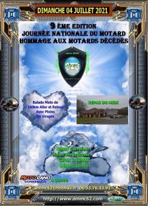9e Journée nationale du motard - Hommage aux motards décédés - Dunkerque (62) @ Dunkerque (62)