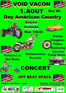 Day Américan Country – Void-Vacon (55) @ Void-Vacon (55)