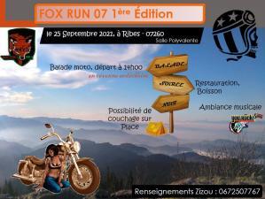 Fox Run 07 1e édition - Ribes (07) @ Ribes (07)