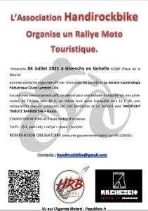 Rallye moto touristique - Handirockbike - Givenchy en Gohelle (62) @ Givenchy en Gohelle (62)