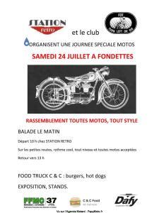Rassemblement toutes motos - Fondettes (37) @ Fondettes (37)