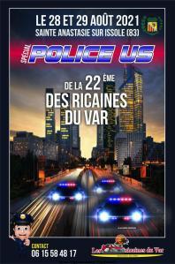 Spécial police US de la 22e Des Ricaines du var - Sainte Anastasie sur Issole (83) @ Sainte Anastasie sur Issole (83)