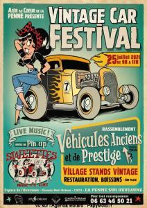 Vintage Car Festival - La Penne sur Huveaune (13) @ La Penne sur Huveaune (13)