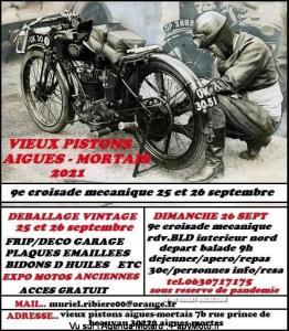 9e Croisade mécanique - Vieux pistons Aigues-Mortais – Aigues Morte (30) @ Aigues Morte (30)