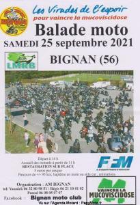 Balade moto - Bignan (56) @ Bignan (56)