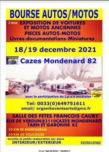 Bourse Autos/Motos - Cazes Mondenard (82) @ Cazes Mondenard (82)