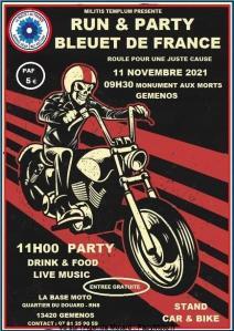 Run & Party Bleurt de France - Gemenos (13) @ Gemenos (13)