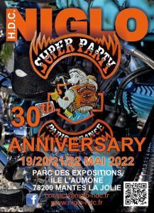 Super Party - Niglo - 30th Anniversary - Mantes la Jolie (78) @ Mantes la Jolie (78)