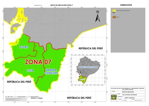 ubicación geográfica de Paquisha